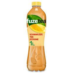 Fuze Tea Schwarzer Tee-Zitrone (Einweg)