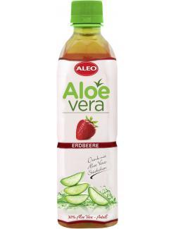 Aleo Aloe Vera Drink Erdbeere (Einweg)