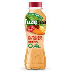 Fuze Tea Schwarzer Tee Pfirsich-Hibiskus (Einweg)