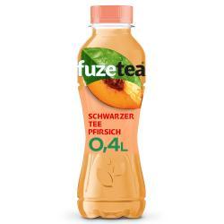 Fuze Tea Schwarzer Tee Pfirsich (Einweg)
