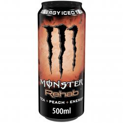 Monster Rehab Tea + Peach + Energy (Einweg)
