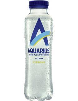 Aquarius Zitrone Zink (Einweg)