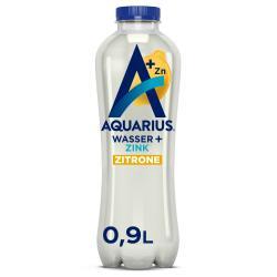 Aquarius Wasser + Zink Zitrone (Einweg)