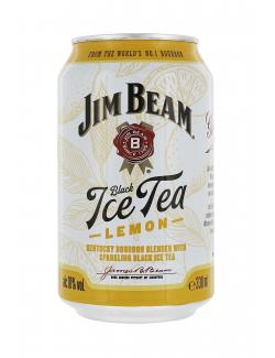 Jim Beam White & Black Ice Tea  (Einweg)