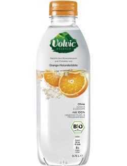 Volvic Essence Natürliches Mineralwasser Orange-Holunderblüte (Einweg)