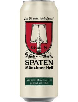 Spaten Münchener hell Einweg