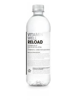 Vitamin Well Reload Zitronen-/Limetten-Geschmack (Einweg)