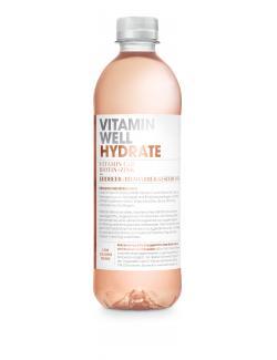 Vitamin Well Hydrate Erdbeer-Rhabarber-Geschmack (Einweg)