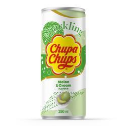 Chupa Chups Sparkling Melon & Cream (Einweg)