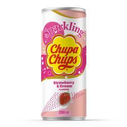 Chupa Chups Sparkling Strawberry & Cream (Einweg)
