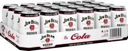 Jim Beam Bourbon Whiskey & Cola (Einweg)