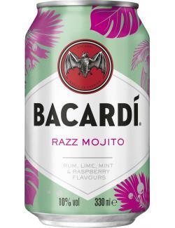 Bacardi Razz Mojito (Einweg)