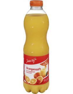 Jeden Tag Orangensaft (Einweg)