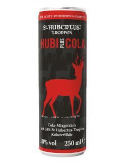 St. Hubertus Hubi plus Cola (Einweg)