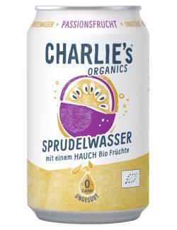 Charlie's Organic Sprudelwasser Passionsfrucht (Einweg)