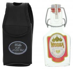 Heiko Blume Wodka mit Handy-Tasche (100 ml) - 4101040011646