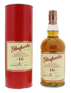 Glenfarclas Highland Single Malt Scotch Whisky 10 years (700 ml) - 5018066104018