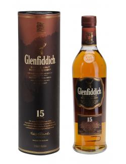 Glenfiddich Solera Single Malt Scotch Whisky 15 years (700 ml) - 5010327325125