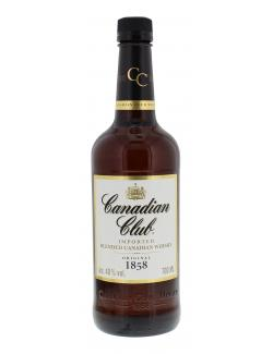 Canadian Club Blended Canadian Whisky (700 ml) - 4017500218480