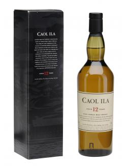 Caol Ila Islay Single Malt Whisky 12 years (700 ml) - 5000281016283