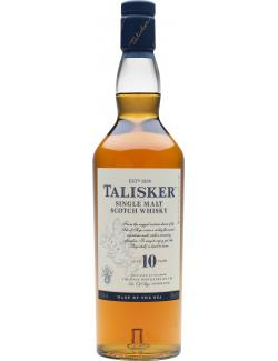 Talisker Single Malt Scotch Whisky 10 years