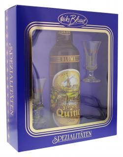 Heiko Blume Friesen-Quitte Geschenkset mit Gläsern (700 ml) - 4101040006277