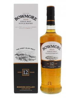 Bowmore Islay Single Malt Scotch Whisky 12 years