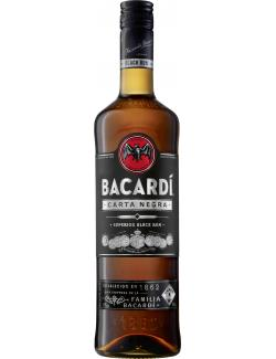 Bacardi Carta Negra black Rum (700 ml) - 4013400509123