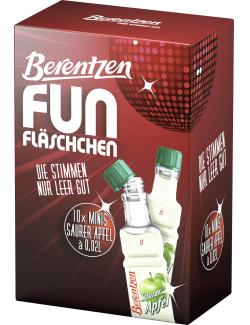 Berentzen Fun Fläschchen Saurer Apfel (10 x 0,02 l) - 4041500237080