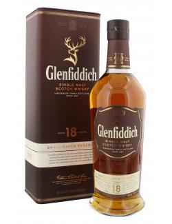 Glenfiddich Single Malt Whisky 18 years (700 ml) - 5010327325583