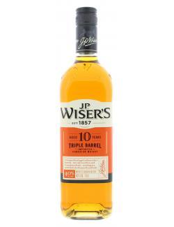 J.P. Wisers Triple Barrel 10 Years