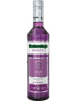 Moskovskaya Shotz Sour Berry Blackberry