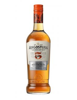 Angostura Gold Carribean Rum Trinidad & Tobago 5 Years