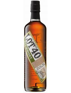 Lot No. 40 Canadian Rye Whisky