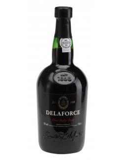 Delaforce Fine Ruby Port (750 ml) - 5602418000419