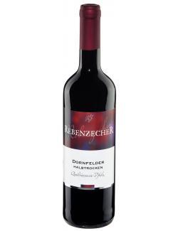 Rebenzecher Dornfelder Rotwein halbtrocken