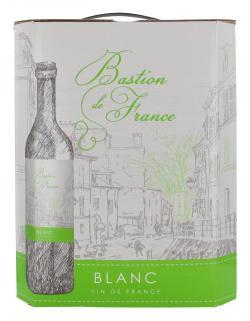Bastion de France Vin de France blanc halbtrocken (3 l) - 4002547033066