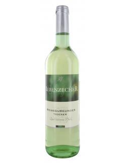 Rebenzecher Weißburgunder Weißwein trocken (750 ml) - 4306188010067