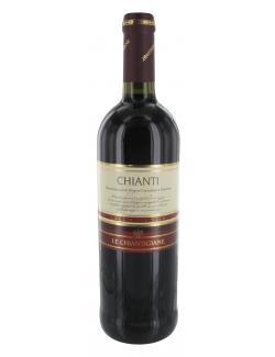 Le Chiantigiane Chianti Loggia del Sole Rotwein trocken (750 ml) - 8016608003437