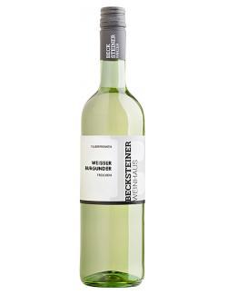 Becksteiner Winzer Weisser Burgunder trocken (750 ml) - 4101580030749