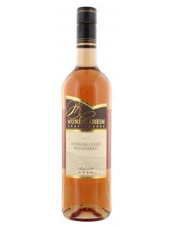 Mundelsheimer Spätburgunder Weissherbst (750 ml) - 4015113013355
