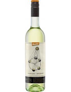 Demeter Riesling Rivaner Weißwein trocken (750 ml) - 4003301055782