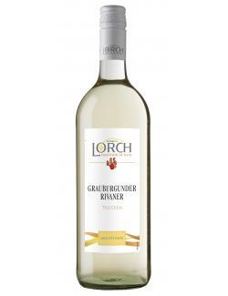Heinrich Lorch Grauer Burgunder Weißwein trocken