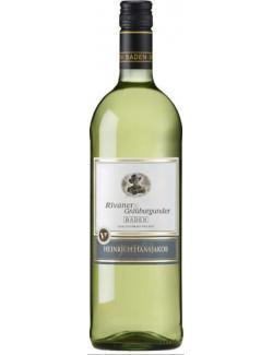 Heinrich Hansjakob Baden Rivaner & Grauburgunder Weißwein trocken