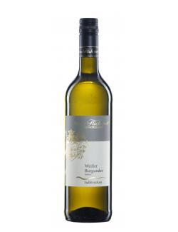 Weinhaus Flick Weisser Burgunder Spätlese Weißwein halbtrocken