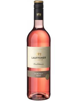 Lauffener Weingärtner Samtrot Rosé halbtrocken