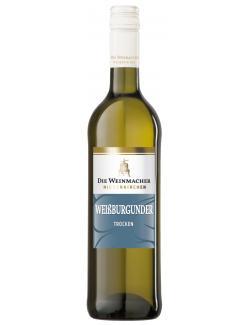 Die Weinmacher Weißburgunder Weißwein trocken