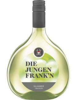 GWF Die Jungen Frank'n Silvaner Weißwein trocken