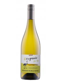 Rieger Organic for Life Demeter Weißer Burgunder Weißwein trocken