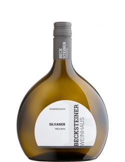 Becksteiner Weinhaus Silvaner Weißwein trocken